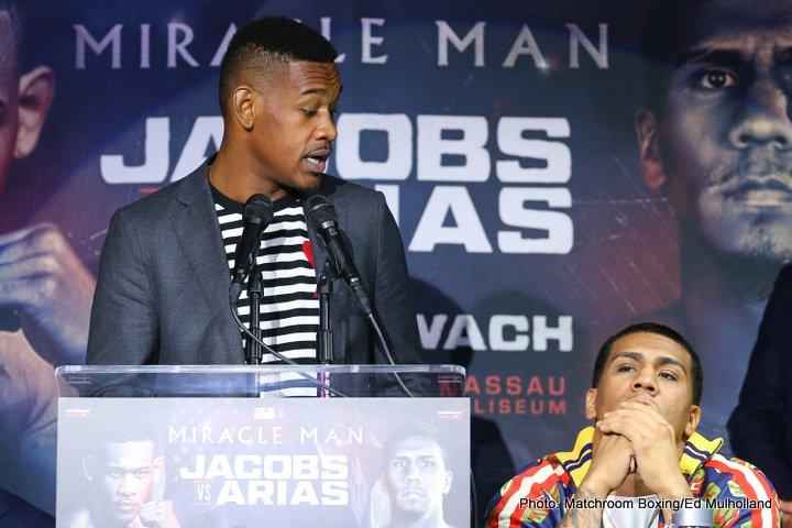 Daniel Jacobs Jacobs vs. Arias Luis Arias