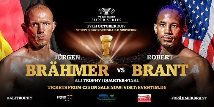 - Latest Jurgen Brahmer Braehmer vs. Brant Rob Brant