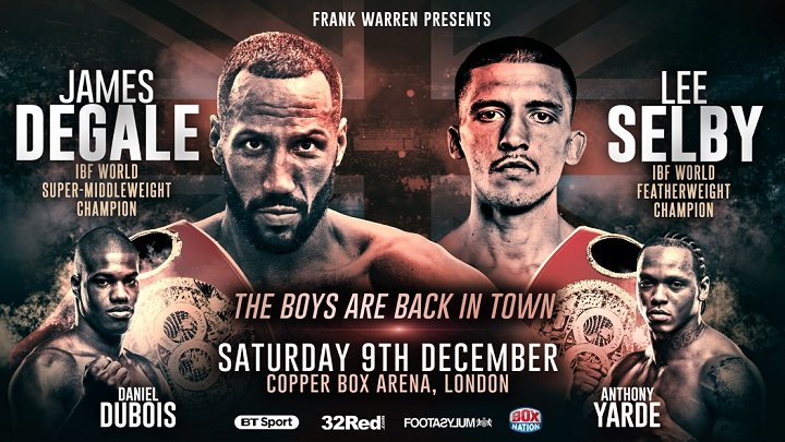 - Latest James DeGale Lee Selby