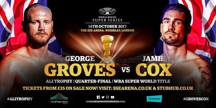 George Groves Jamie Cox