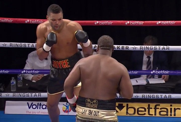 Latest Joe Joyce Joyce vs. Jozic Rudolf Jozic