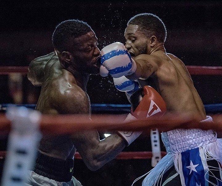 Sherrell KOs Hodge » Boxing News