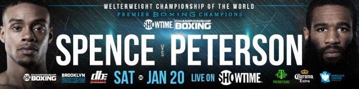 Errol Spence Jr Keith Thurman lamont peterson Spence vs. Peterson