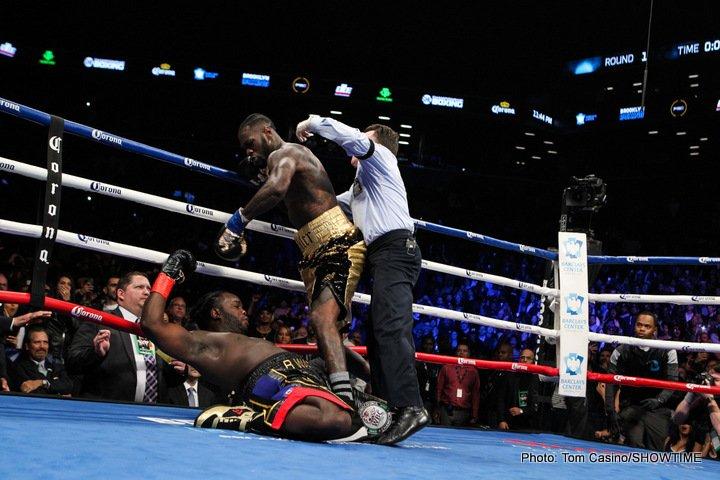Deontay Wilder Larry Holmes Mike Tyson Muhammad Ali