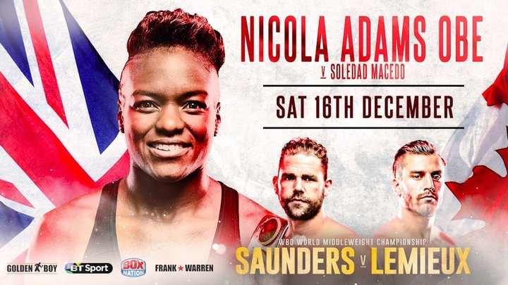 - Latest Nicola Adams