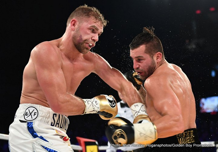 Billy Joe Saunders Canelo Alvarez David Lemieux Gennady Golovkin Kell Brook