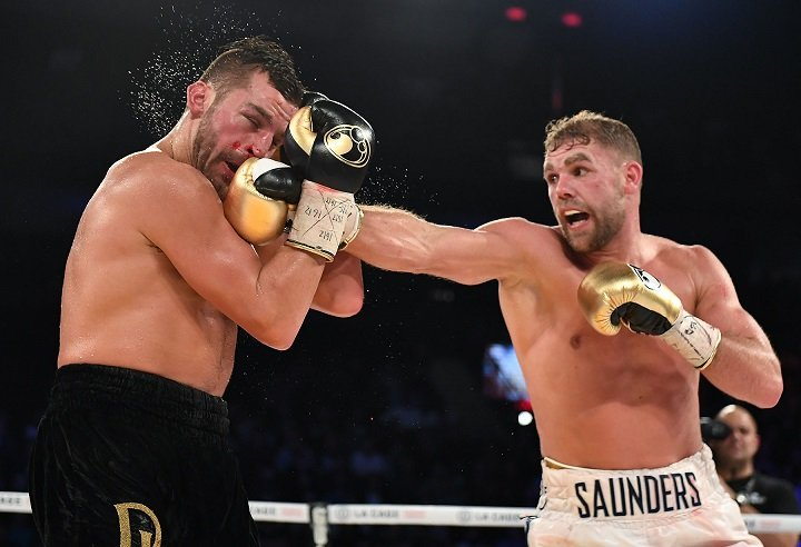 Billy Joe Saunders Maurice Hooker Terry Flanagan