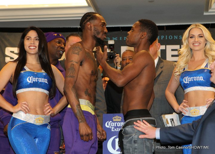 Errol Spence Jr lamont peterson Javier Fortuna Robert Easter Jr. Spence vs. Peterson