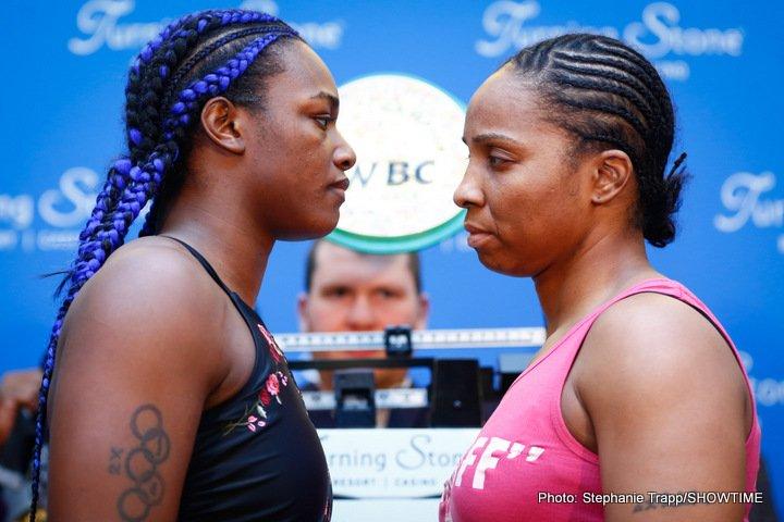 - Latest Claressa Shields Shields vs. Nelson Tori Nelson