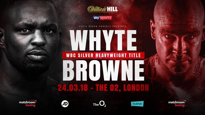 Latest Dillian Whyte Lucas Browne Whyte vs. Browne