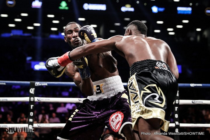 Errol Spence Jr lamont peterson Spence vs. Peterson