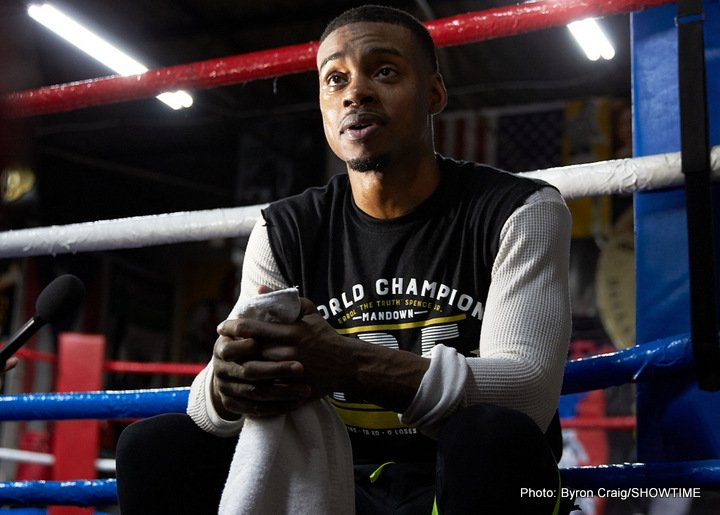 Errol Spence Jr Keith Thurman lamont peterson Spence vs. Peterson