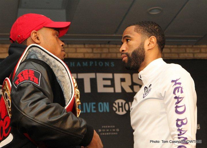 Errol Spence Jr lamont peterson Spence vs. Peterson