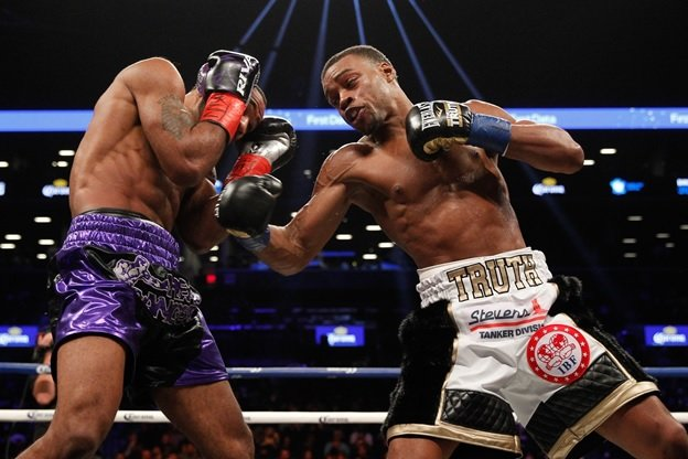 Errol Spence Jr lamont peterson