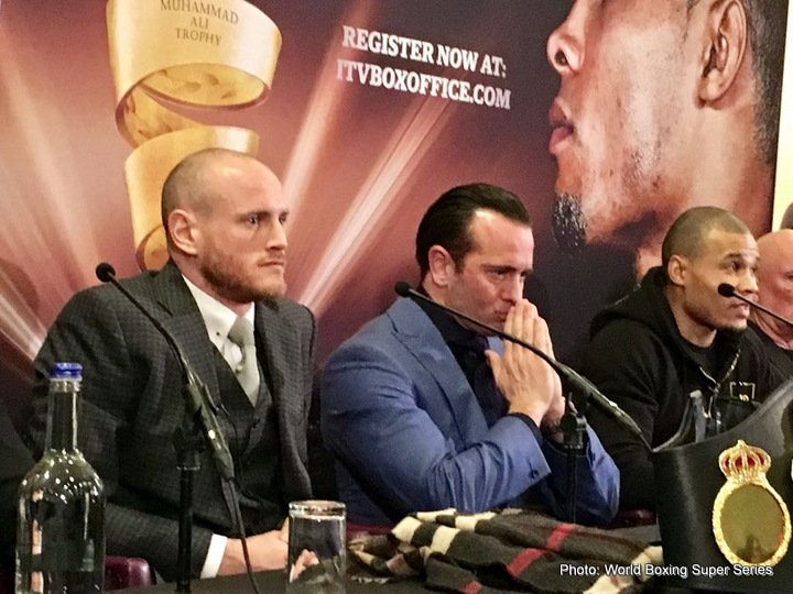 Chris Eubank Jr George Groves Groves vs. Eubank Jr
