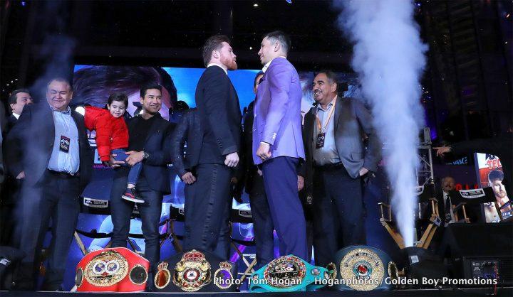 Gennady Golovkin Saul Alvarez Canelo vs. Golovkin II Eric Gomez Golden Boy Promotions Tom Loeffler