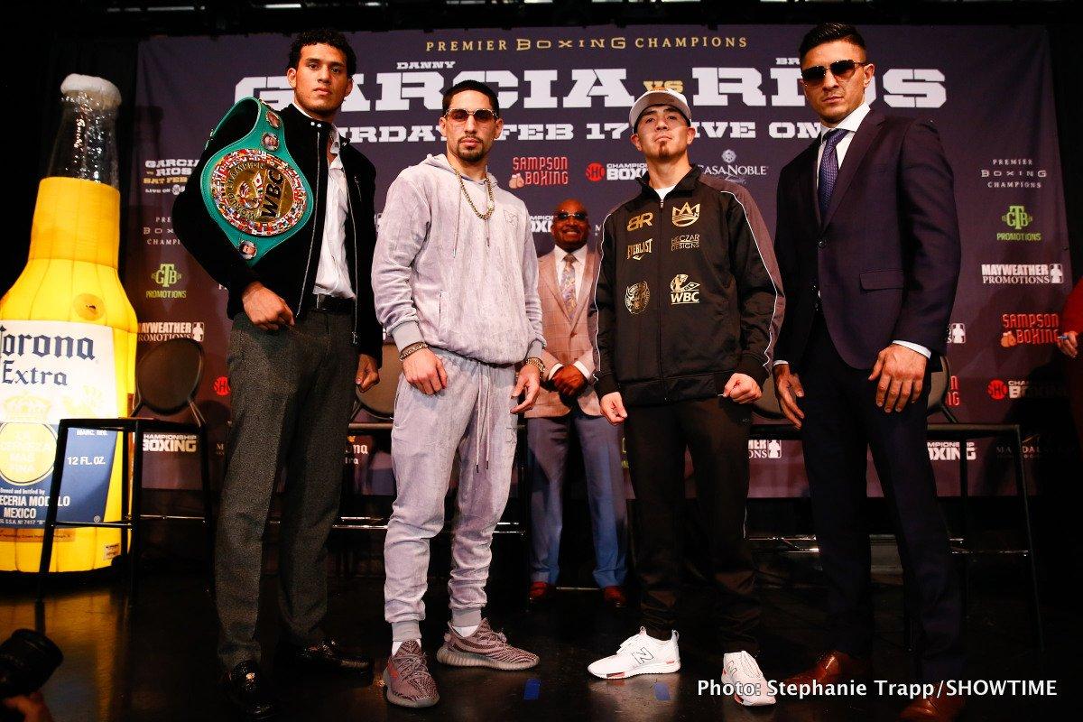 - Latest Brandon Rios Danny Garcia Benavidez vs. Gavril David Benavidez Garcia vs. Rios Ronald Gavril