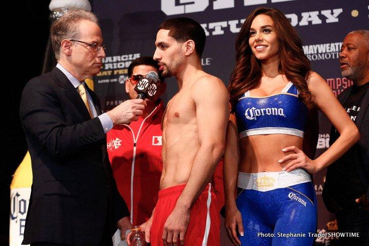 Brandon Rios Danny Garcia Garcia vs. Rios