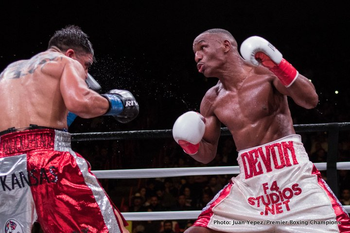- Latest Devon Alexander