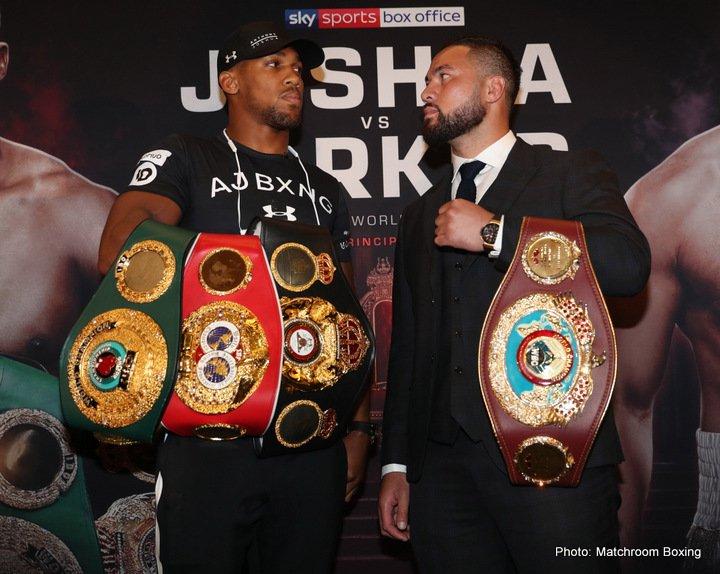 Anthony Joshua Joseph Parker Joshua vs. Parker