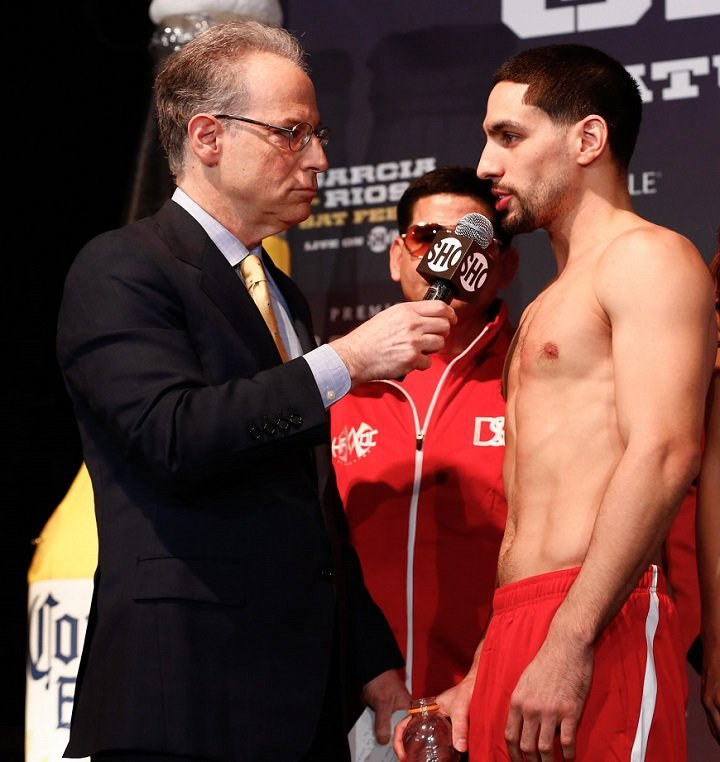 Danny Garcia Vs. Brandon Rios Final Weights, Quotes