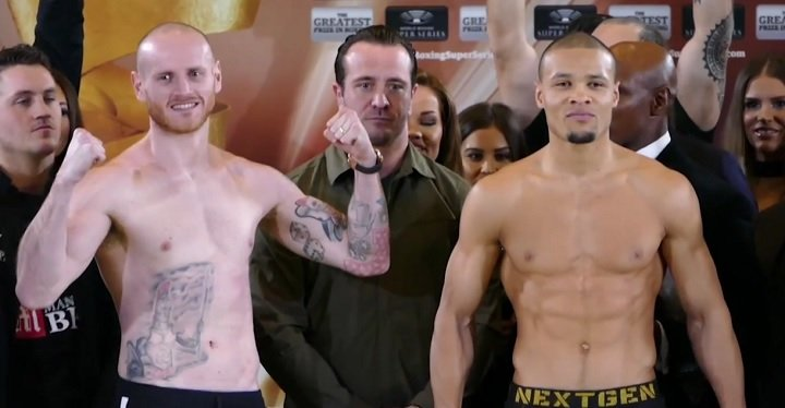Chris Eubank Jr George Groves