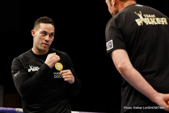 Derek Chisora Joseph Parker Browne vs. Allen Dave Allen Dillian Whyte Eddie Hearn Lucas Browne Matchroom Boxing Parker vs. Chisora