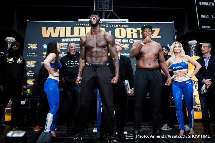 Andre Dirrell Deontay Wilder