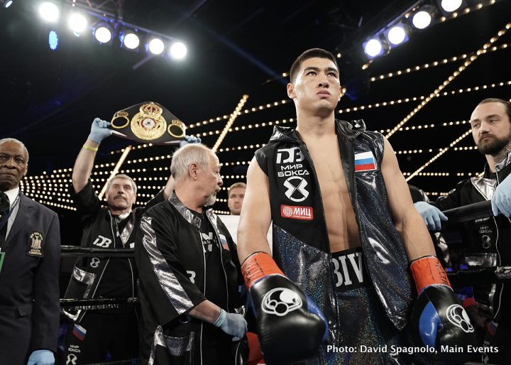 Latest Bivol vs. Chilemba Dmitry Bivol Isaac Chilemba