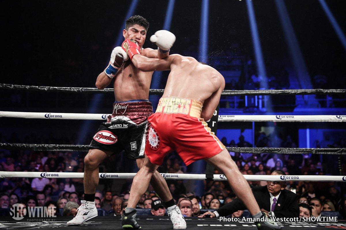 Mikey Garcia vs. Sergey Lipinets - Results » Boxing News Boxing News