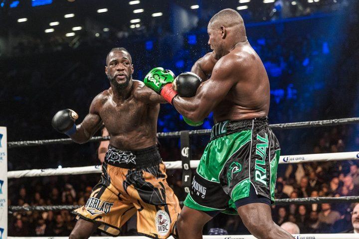 Anthony Joshua Deontay Wilder Joseph Parker Joshua vs. Wilder Matchroom Boxing