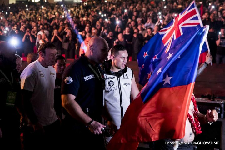 reputable site f4e55 c63fc Joseph Parker signs with Eddie Hearn's Matchroom ⋆ Boxing ...