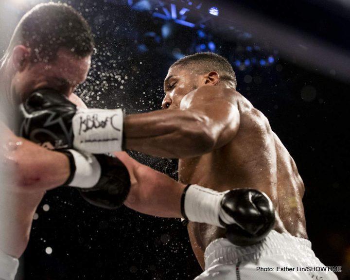 "Anthony Joshua Deontay Wilder Tyson Fury Dillian Whyte Jarrell ""Big Baby"" Miller Joshua vs. Miller"