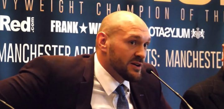 Tyson Fury Fury vs. Seferi Sefer Seferi