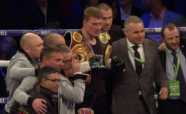 Alexander Povetkin Dillian Whyte Eddie Hearn Matchroom Boxing