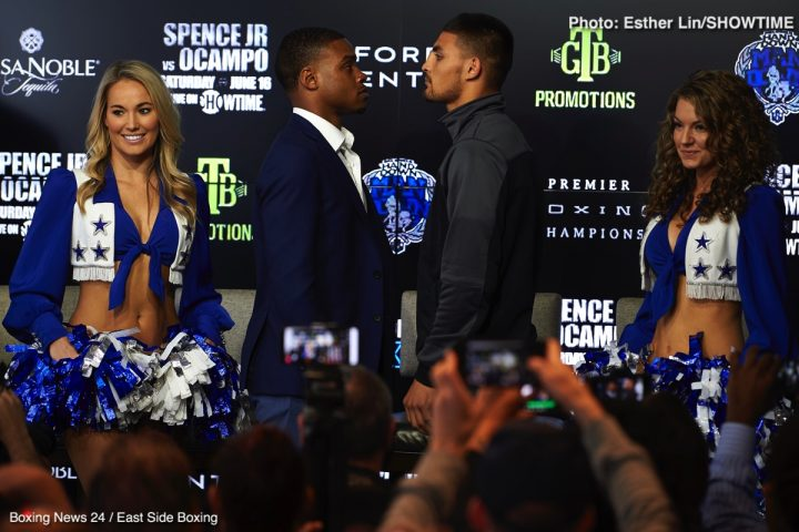 Errol Spence Jr Carlos Ocampo Spence vs. Ocampo