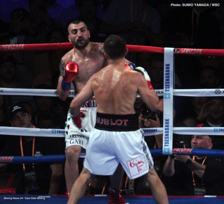 Canelo Alvarez Gennady Golovkin Vanes Martirosyan