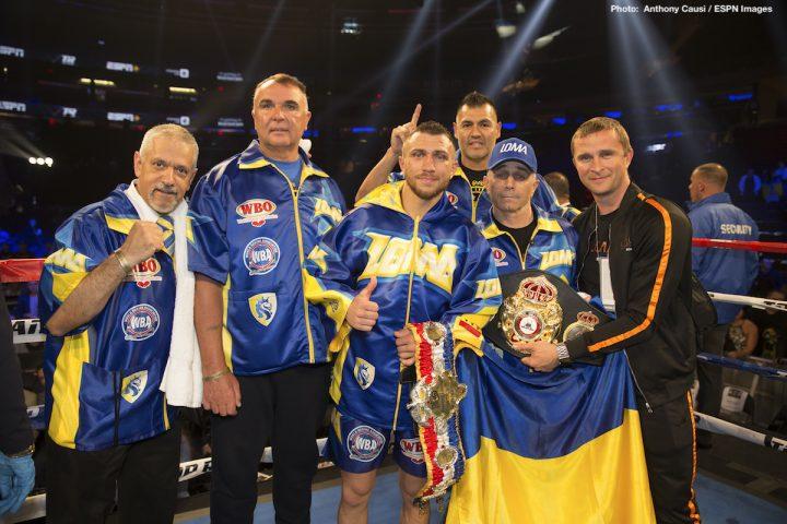 Jorge Linares Vasyl Lomachenko Lomachenko vs. Linares Ray Beltran top rank