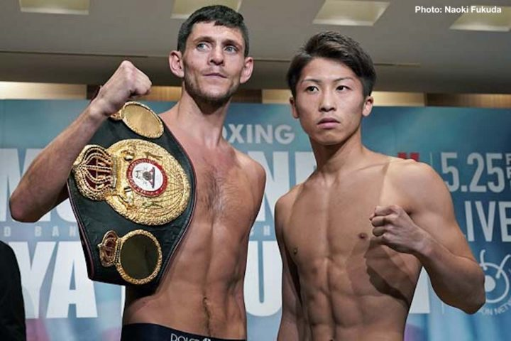 By Trevor Mcintyre Wba World Bantamweight Champion Jamie Mcdonnell   Kos Successful Weighed In At   C Bd Pounds On Thursday For His Title Defense
