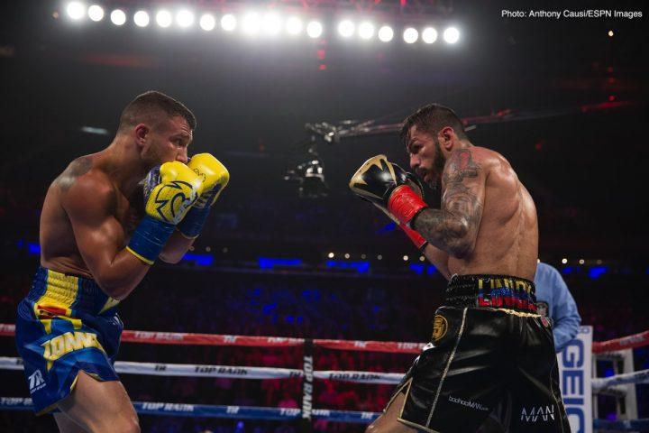 - Latest Jorge Linares Vasyl Lomachenko Lomachenko vs. Linares