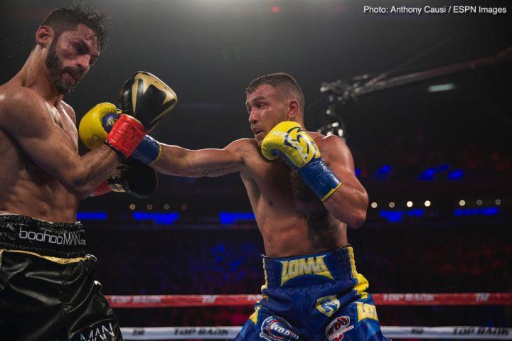 Vasyl Lomachenko Beltran vs. Pedraza Jose Pedraza Raymundo Beltran