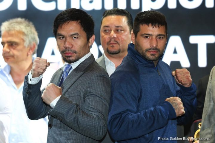 - Latest Lucas Matthysse Manny Pacquiao