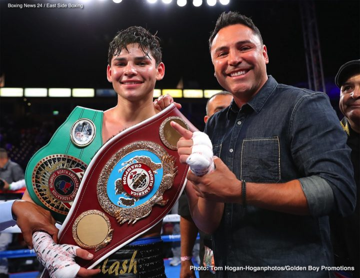 Latest Gervonta Davis Ryan Garcia