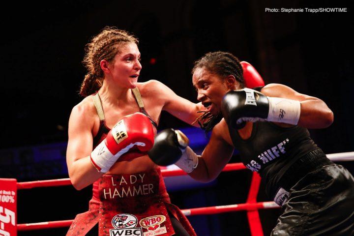 Latest Claressa Shields Hanna Gabriels Shields vs. Gabriels Tori Nelson
