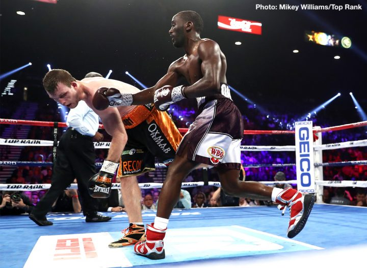 Image result for Terence crawford switch hit