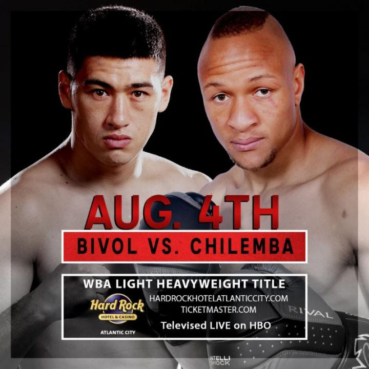 Latest Bivol vs. Chilemba Dmitry Bivol Isaac