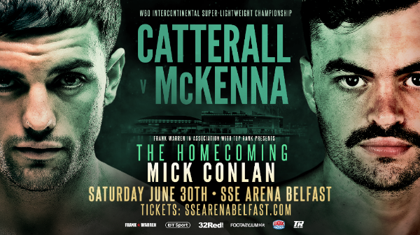 - Latest Jack Catterall Tyrone McKenna