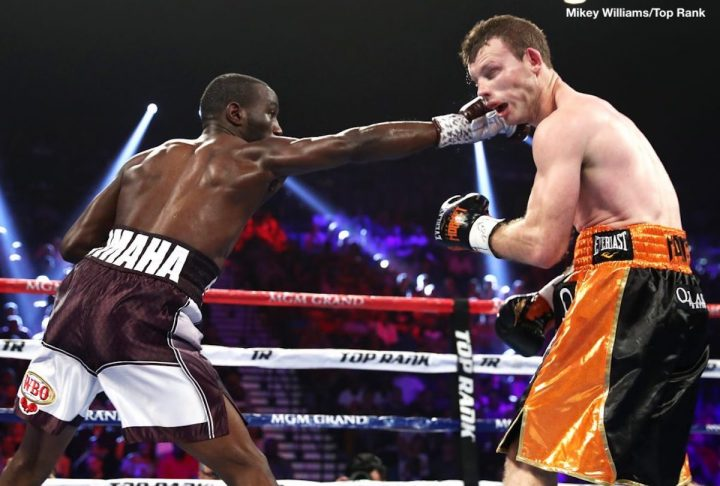 Terence Crawford Crawford vs. Horn Jeff Horn