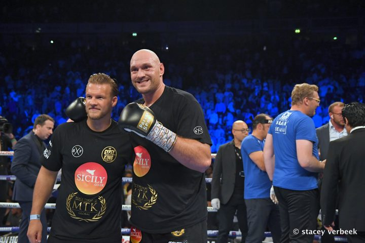 Tony Bellew Tyson Fury Fury vs. Seferi Sefer Seferi