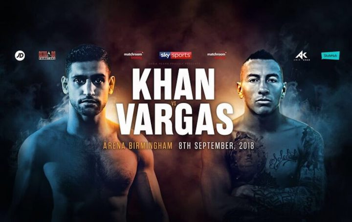Amir Khan Khan vs. Vargas Lewis Ritson Sam Eggington Samuel Vargas